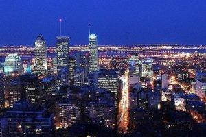 Montréal, Ligne D'Horizon, Ville, Canada