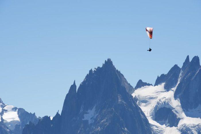 Visiter le Mont-blanc par les airs